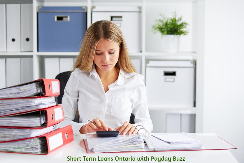 Short Term Loans Ontario